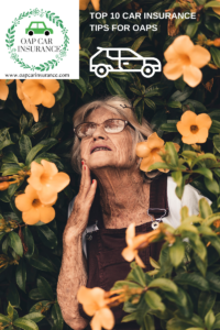 Top 10 Tips When Buying UK Car Insurance For OAPs
